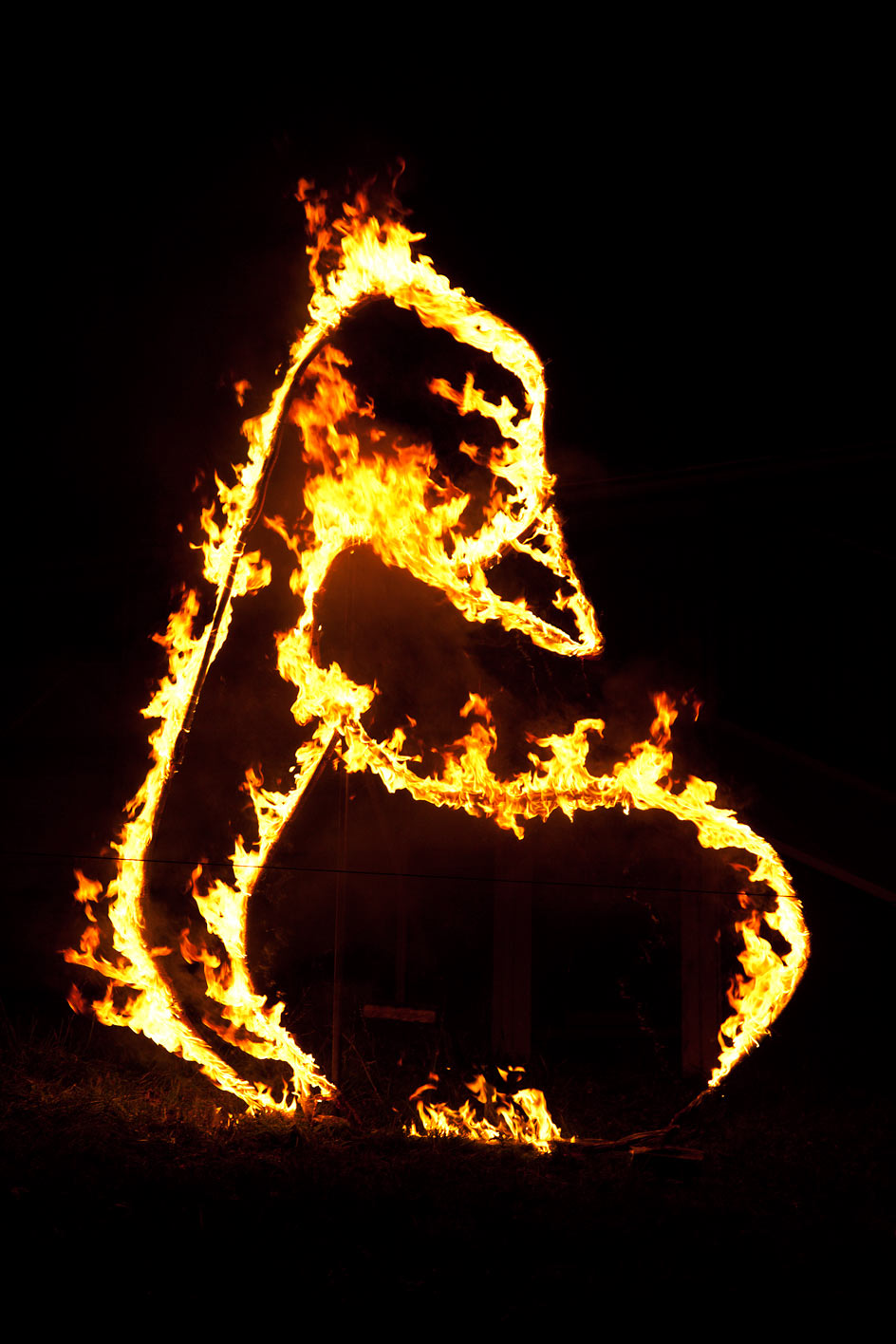 photo of fire display